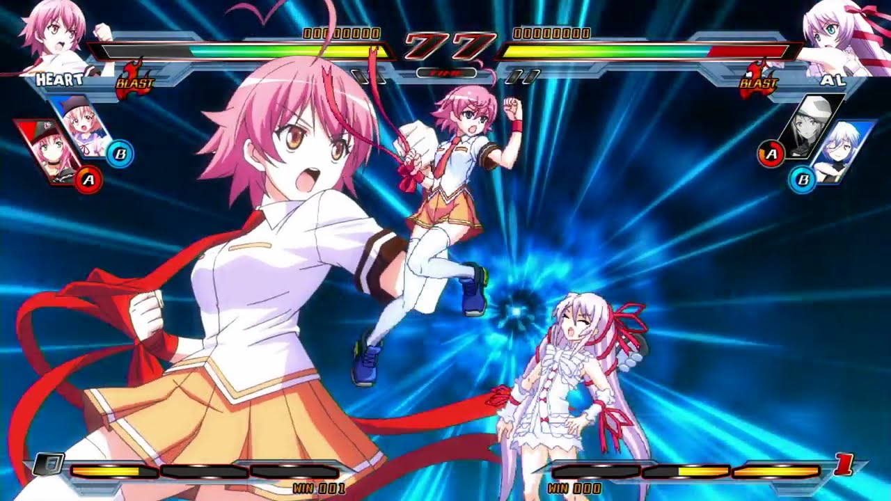 Platinum Report: Nitroplus Blasterz: Heroines Infinite Duel #122