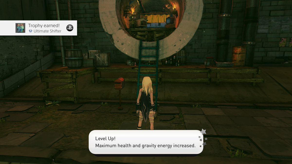 PING! The moment I achieved the Platinum in Gravity Rush 2