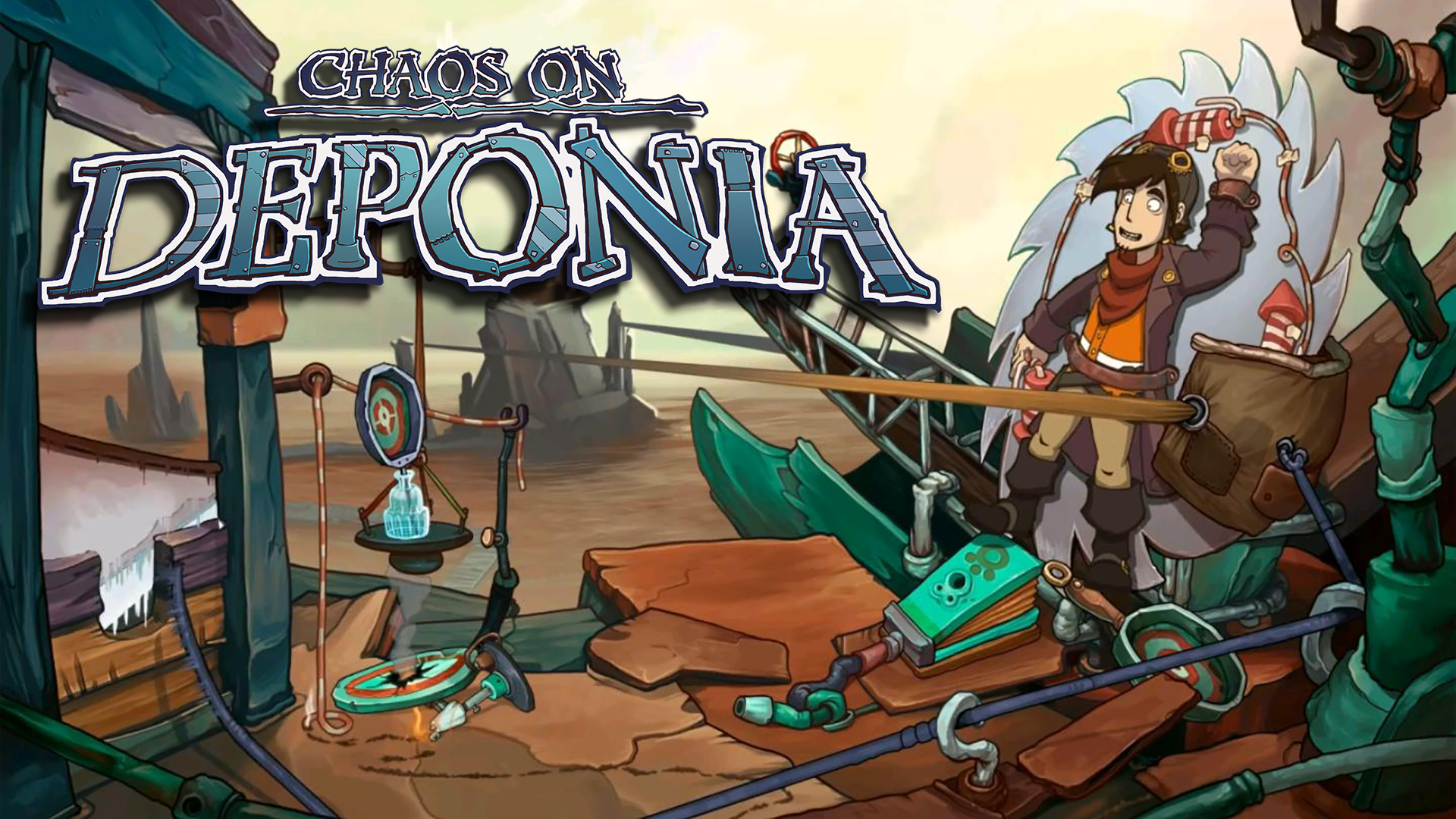 Chaos On Deponia – PS4 | Review