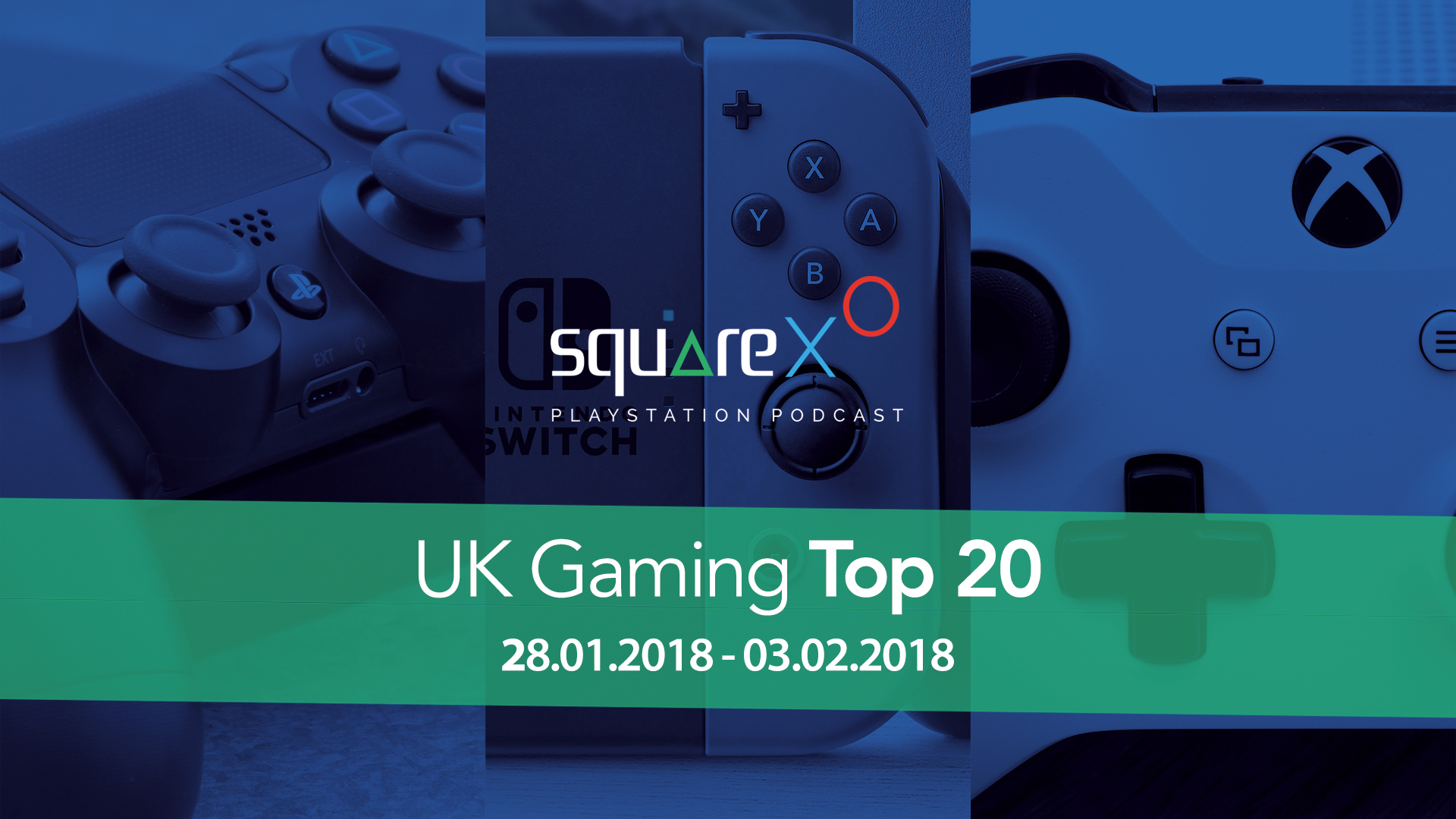 UK Weekly Top 20 Games for 28/01/18 – 03/02/18