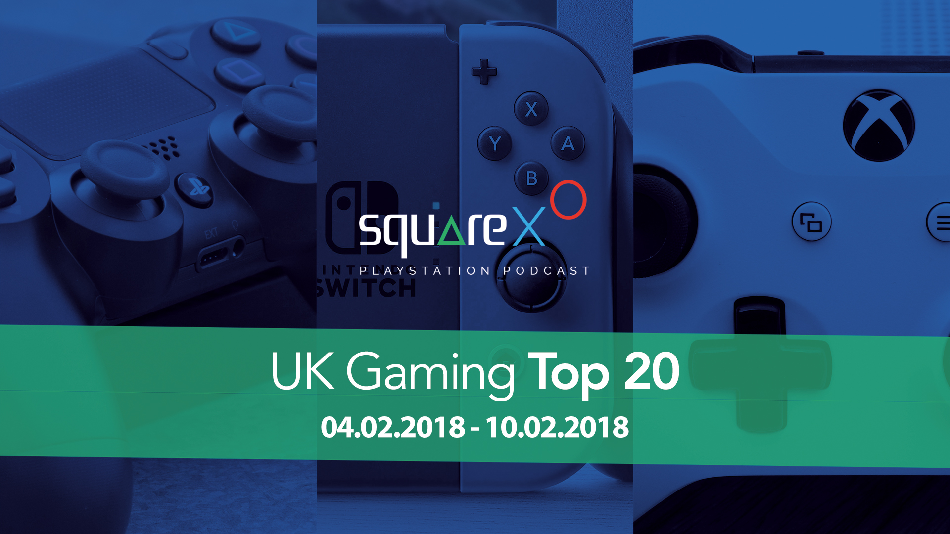UK Weekly Top 20 Games for 04/02/18 – 10/02/18