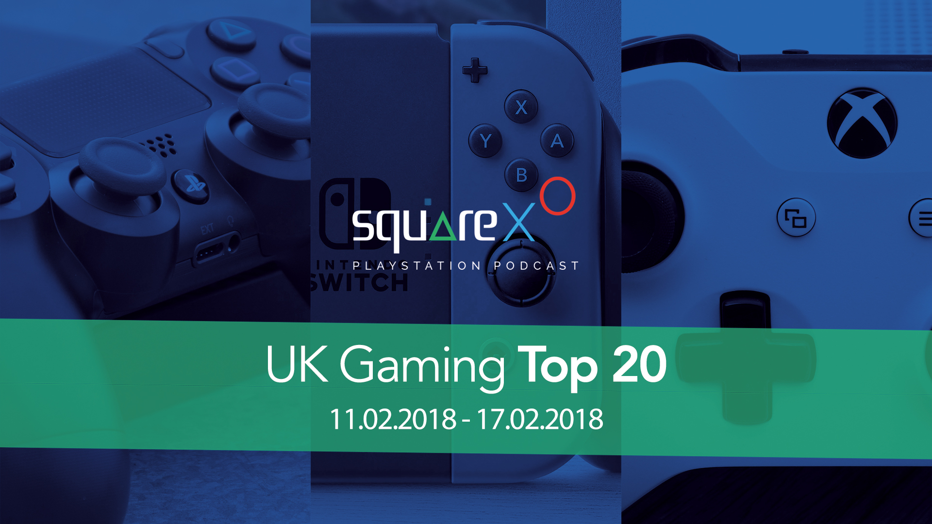 UK Weekly Top 20 Games for 11/02/18 – 17/02/18
