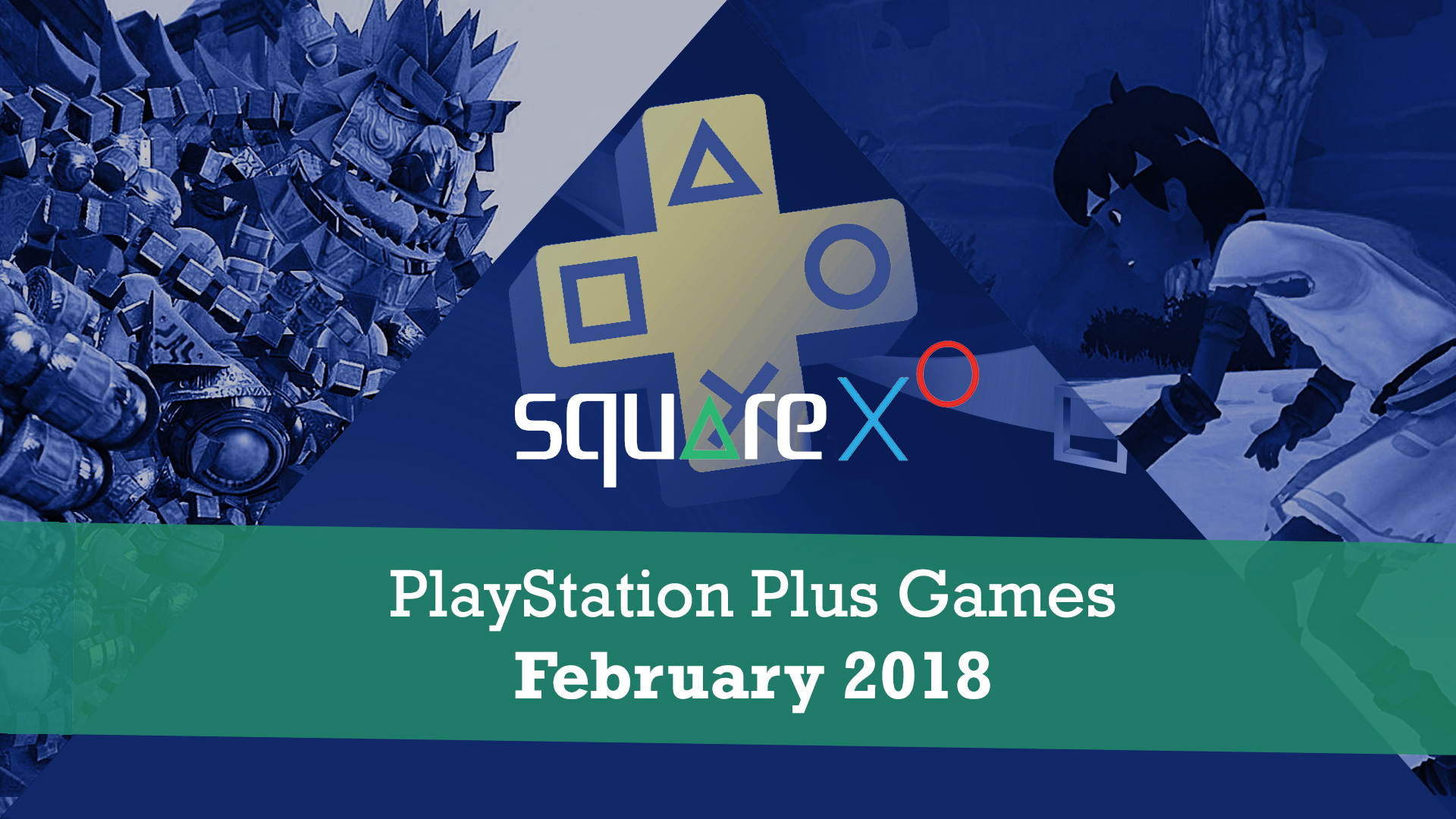 PS+ Games for February 2018