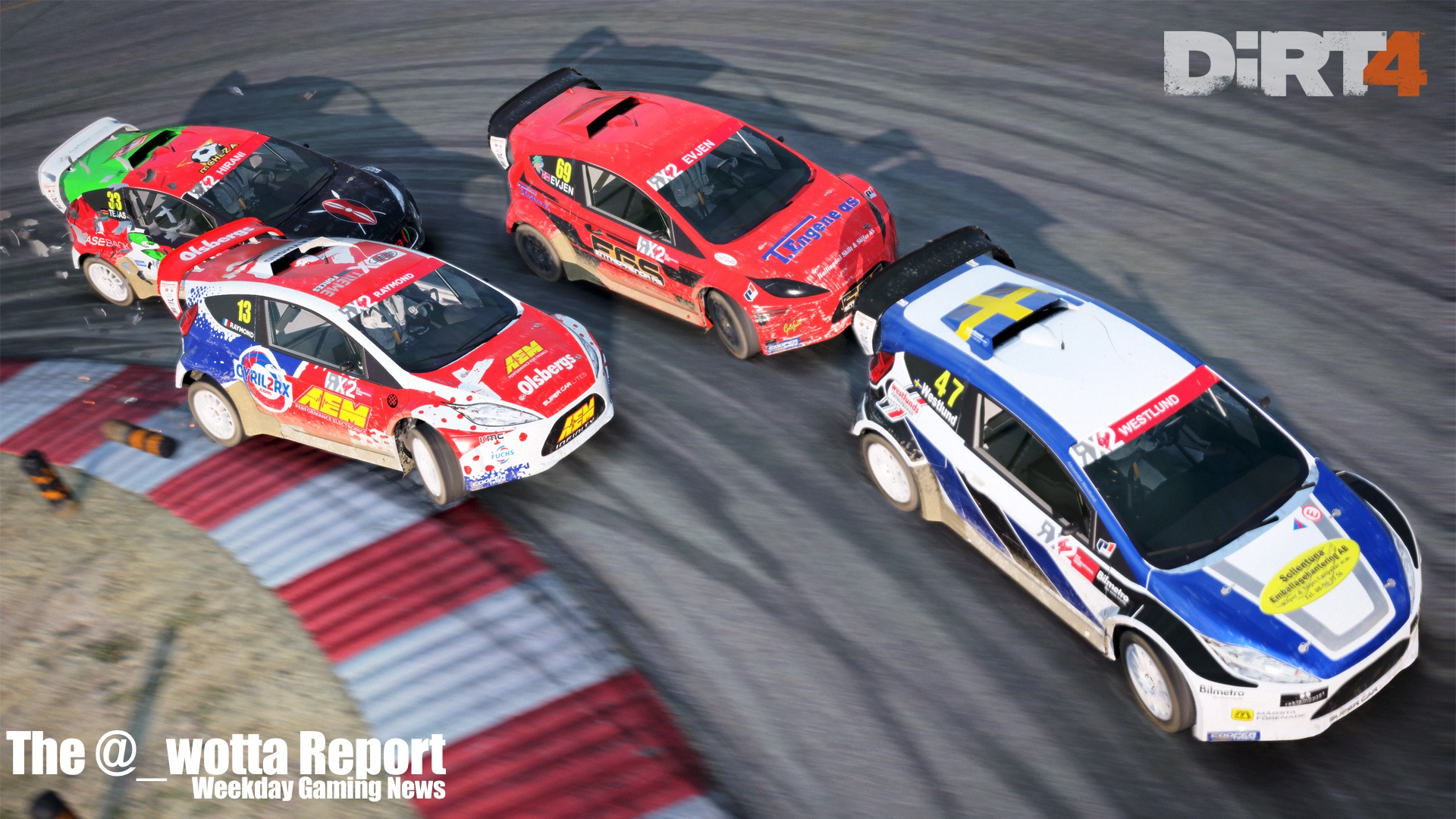 The @_wotta Report Square announces Marvel Game, DiRT 4 announced | Weekday Gaming News