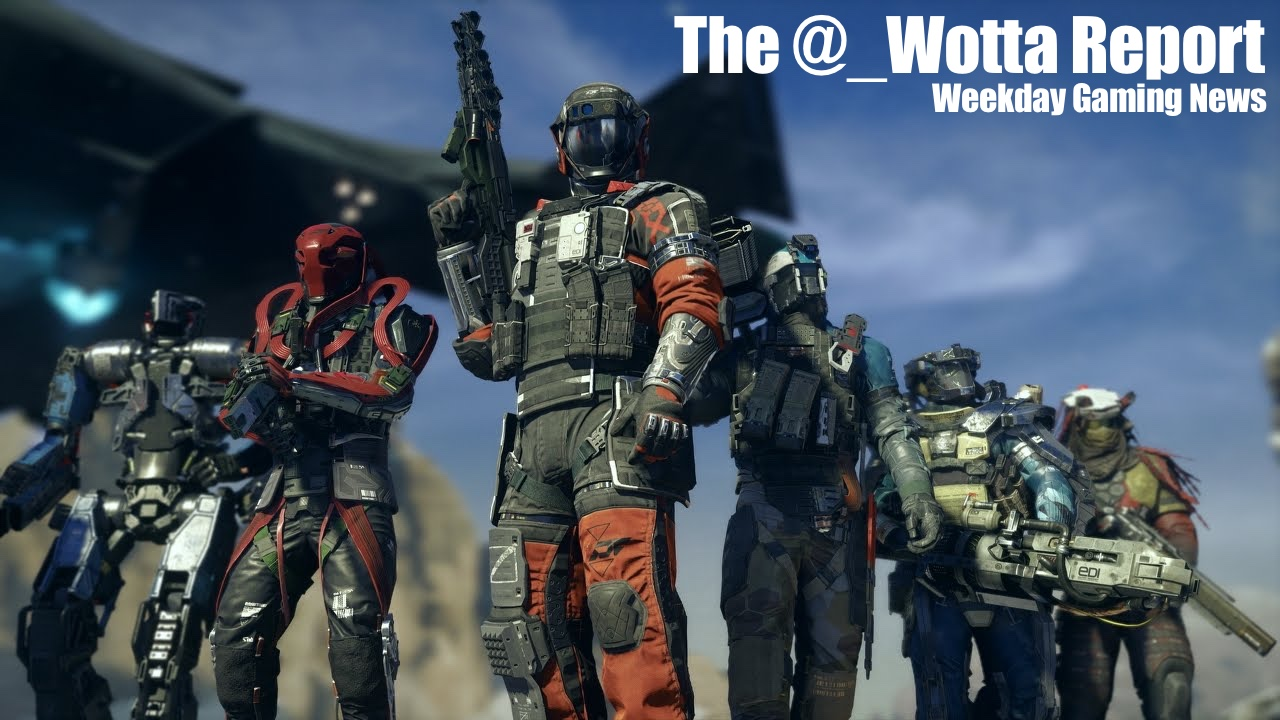 The @_wotta Report – Infinite Warfare is 2016's Biggest Game | Weekday Gaming News