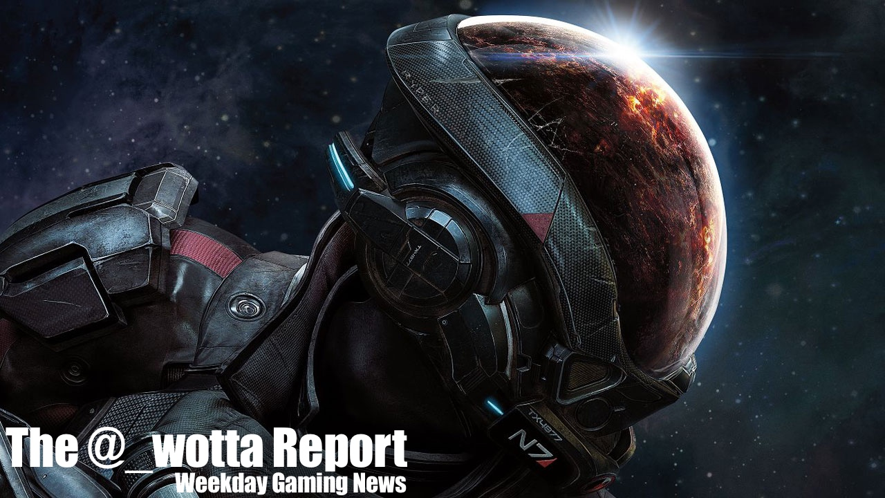 The @_wotta Report – Jan 23, 2017 | Weekday Gaming News