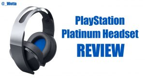 Sony PlayStation Platinum Headset – PS4 | Review