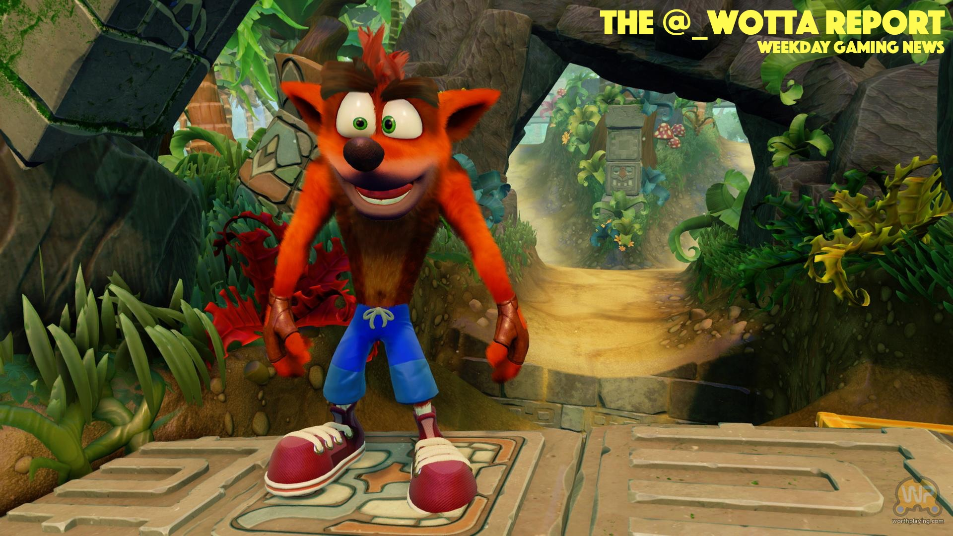 The @_wotta Report – Crash is back this June | Weekday Gaming News