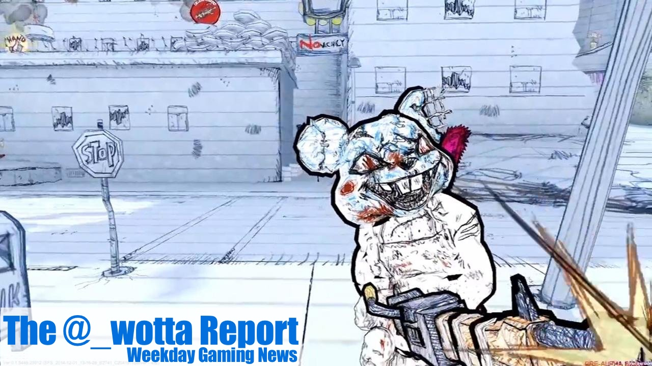 The @_wotta Report – Resident Evil stays top of Charts, Drawn to Death dated | Weekday Gaming News