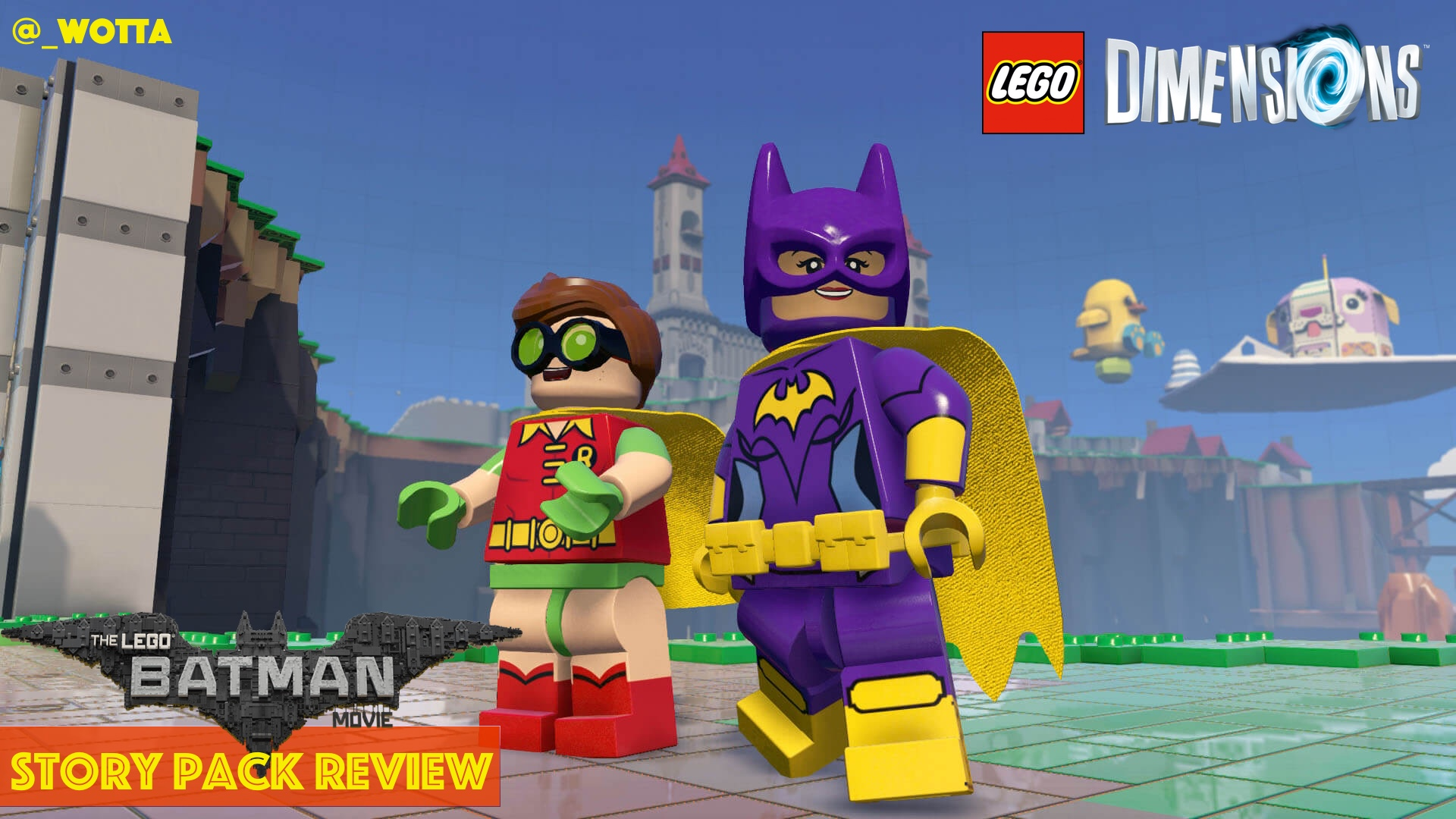LEGO Dimensions: LEGO The Batman Movie Story Pack – PS4 | Review