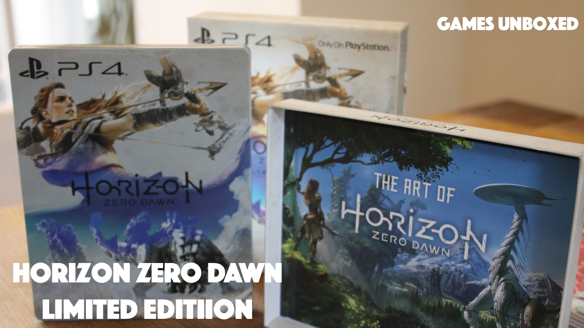 Horizon Zero Dawn Limited Edition | Games Unboxed