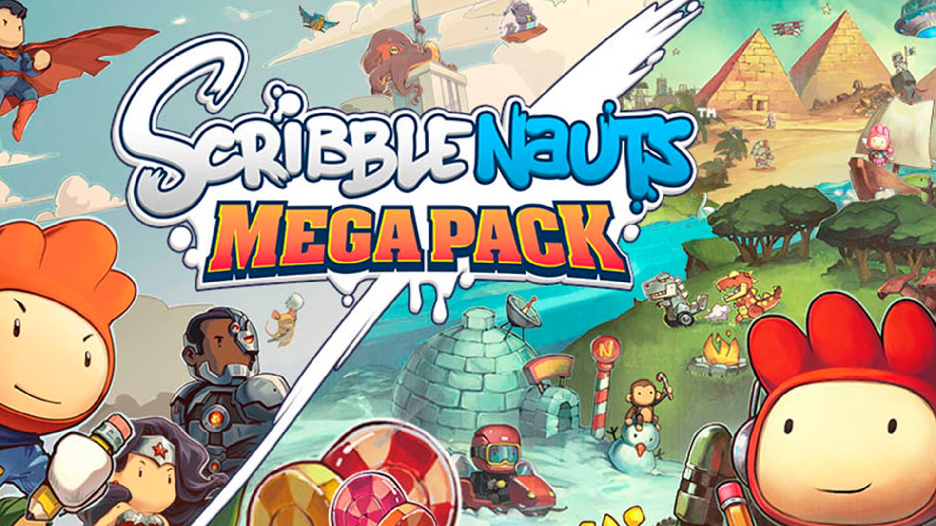 Scribblenauts Mega Pack – PS4 | Review