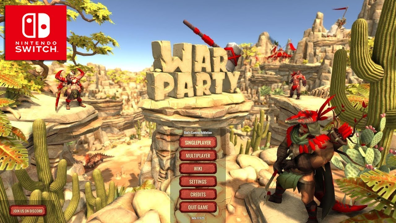 Warparty – Nintendo Switch | Review