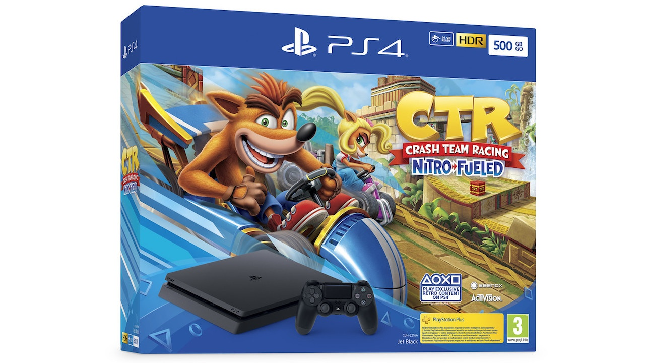Sony announces Crash Team Racing bundles