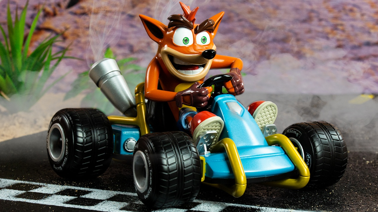 Crash Team Racing Merchandise officially announced