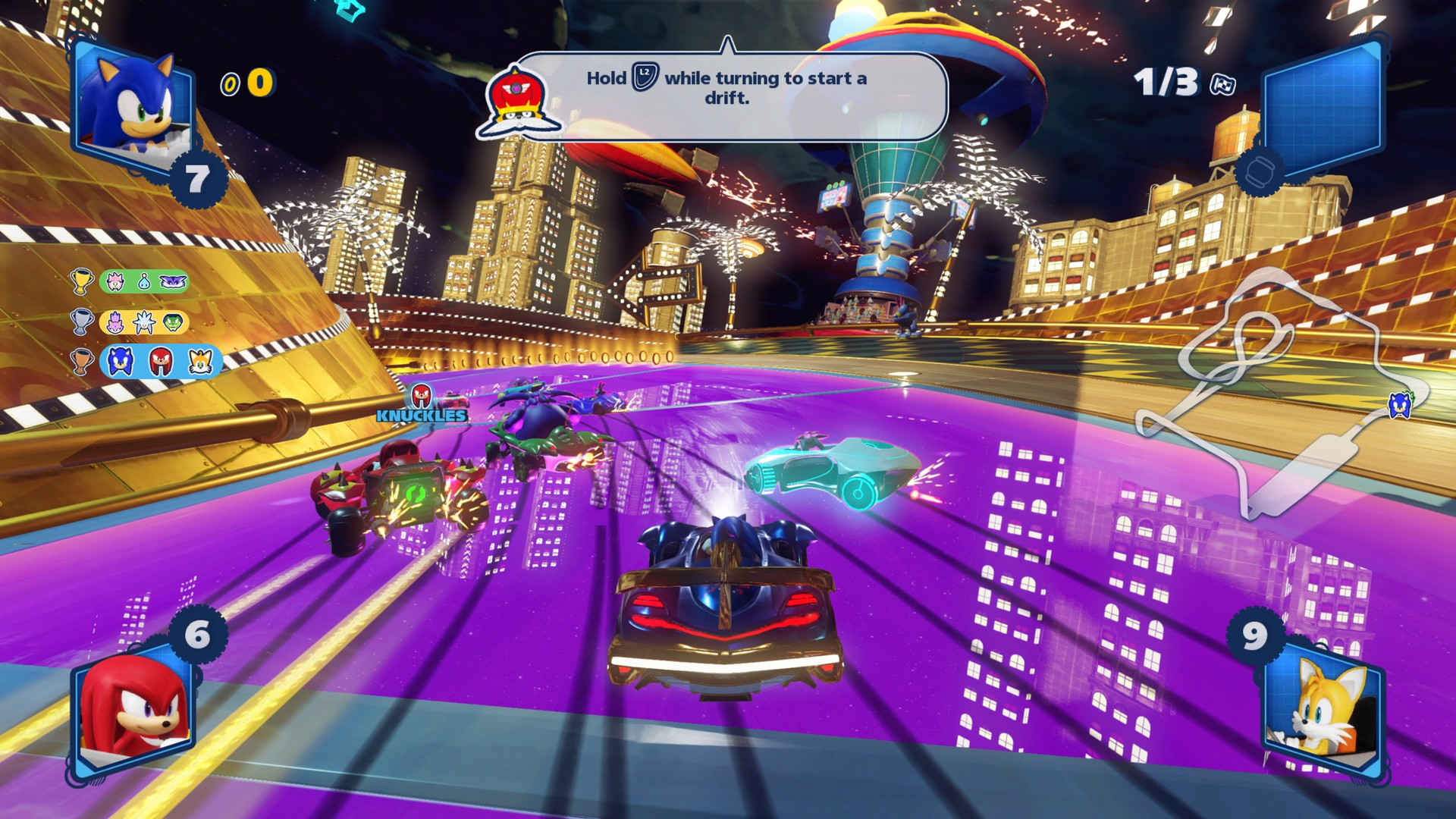 Team Sonic Racing – PS4 | Review | SquareXO