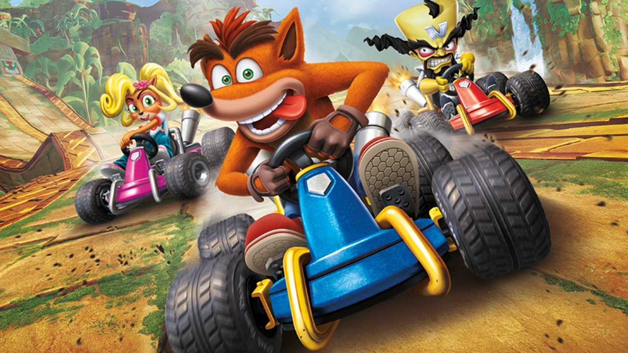 Crash Team Racing brings all new Character and Kart customisation