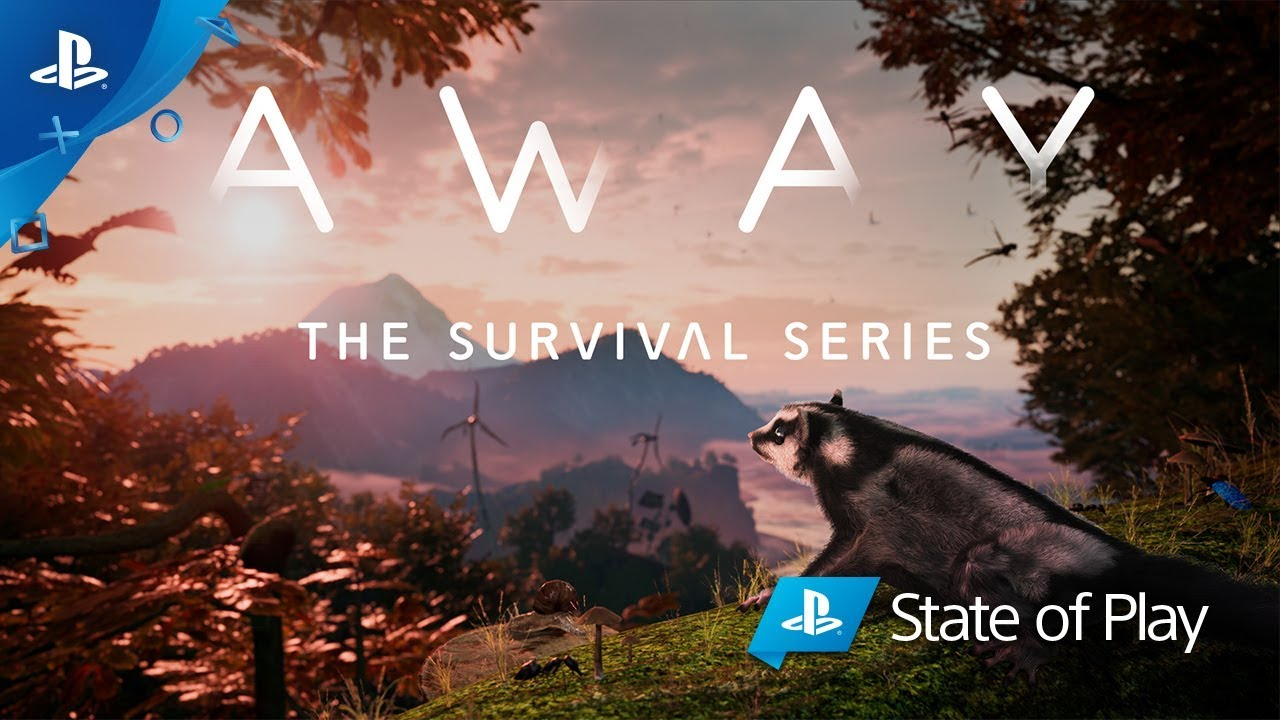 Away: The Survival Series is like Planet Earth with cataclysmic storms