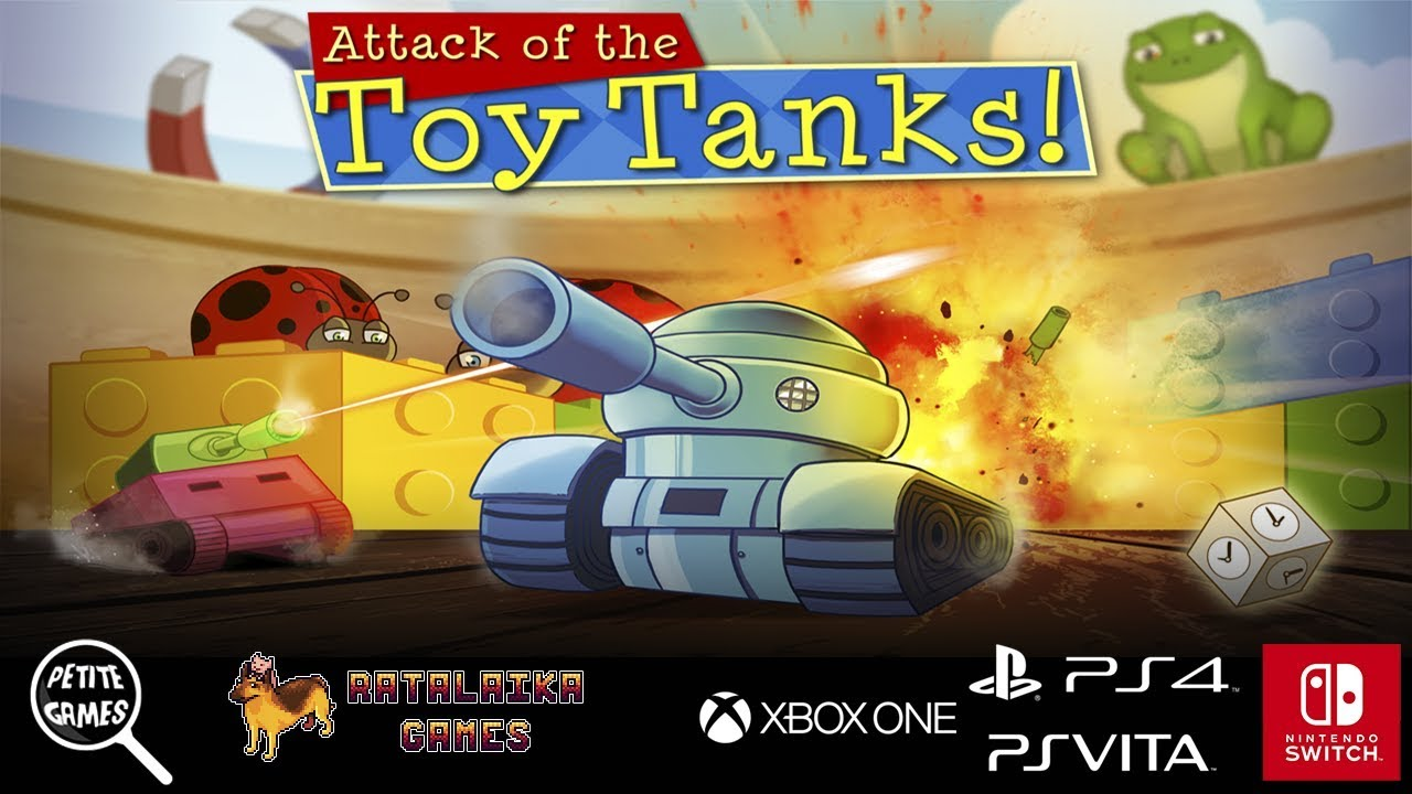 Attack of the Toy Tanks – PS4 | Review