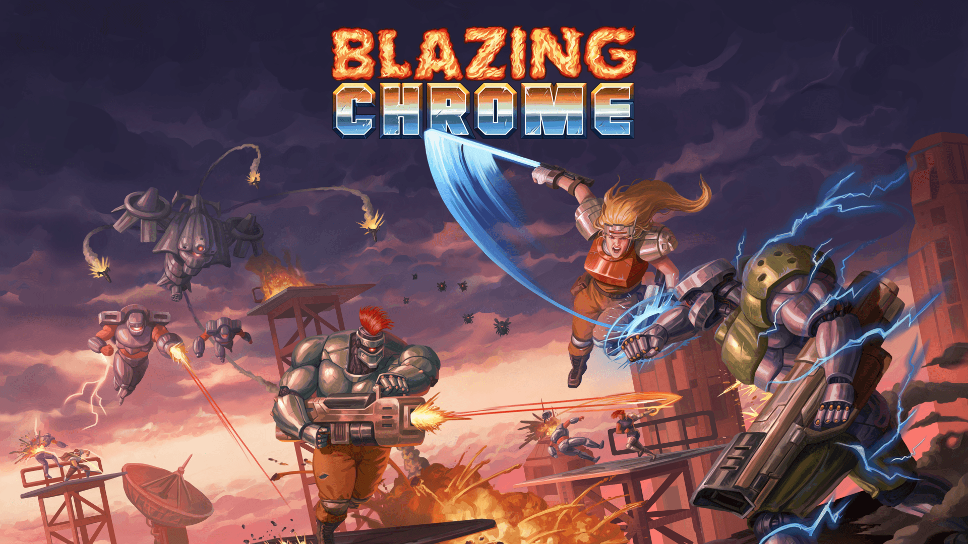 Blazing Chrome – PS4 | Review