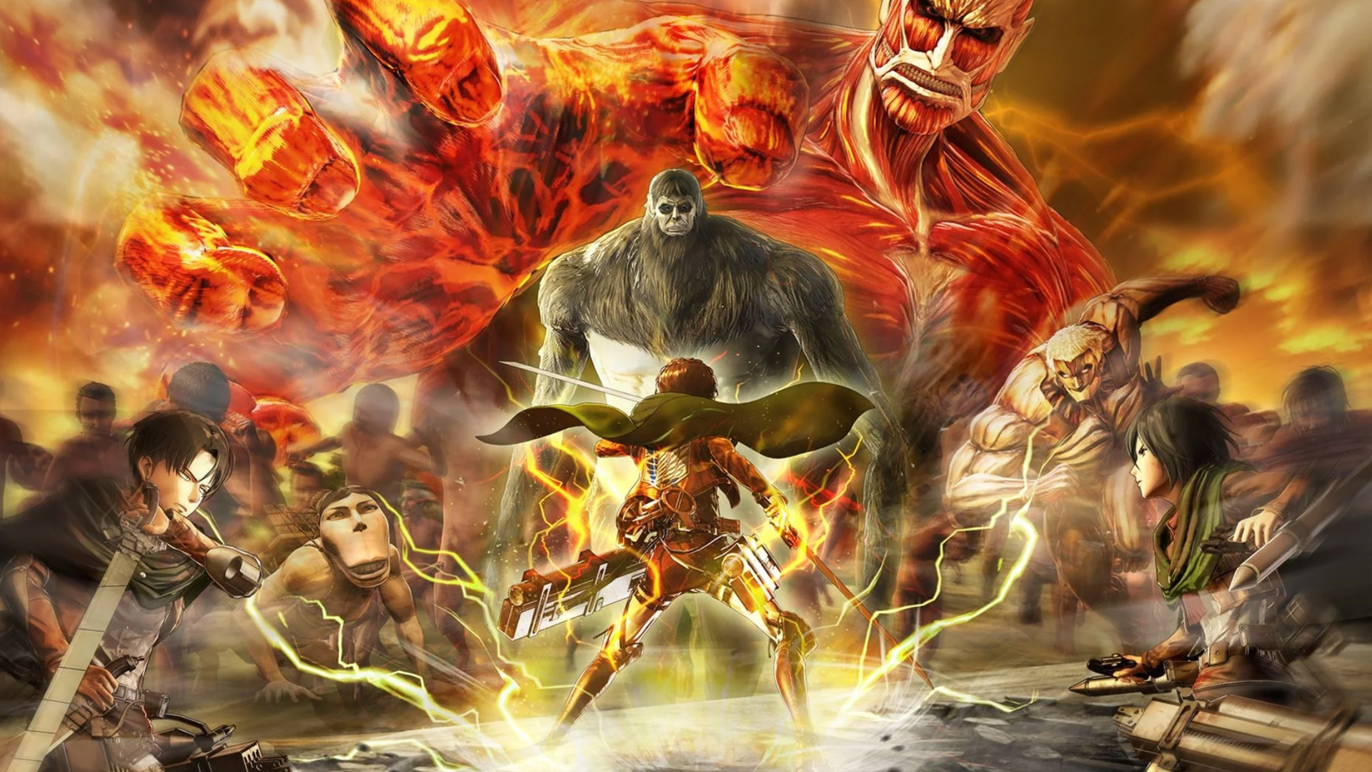 Attack On Titan 2 (A.O.T.2) – PS4 | Review