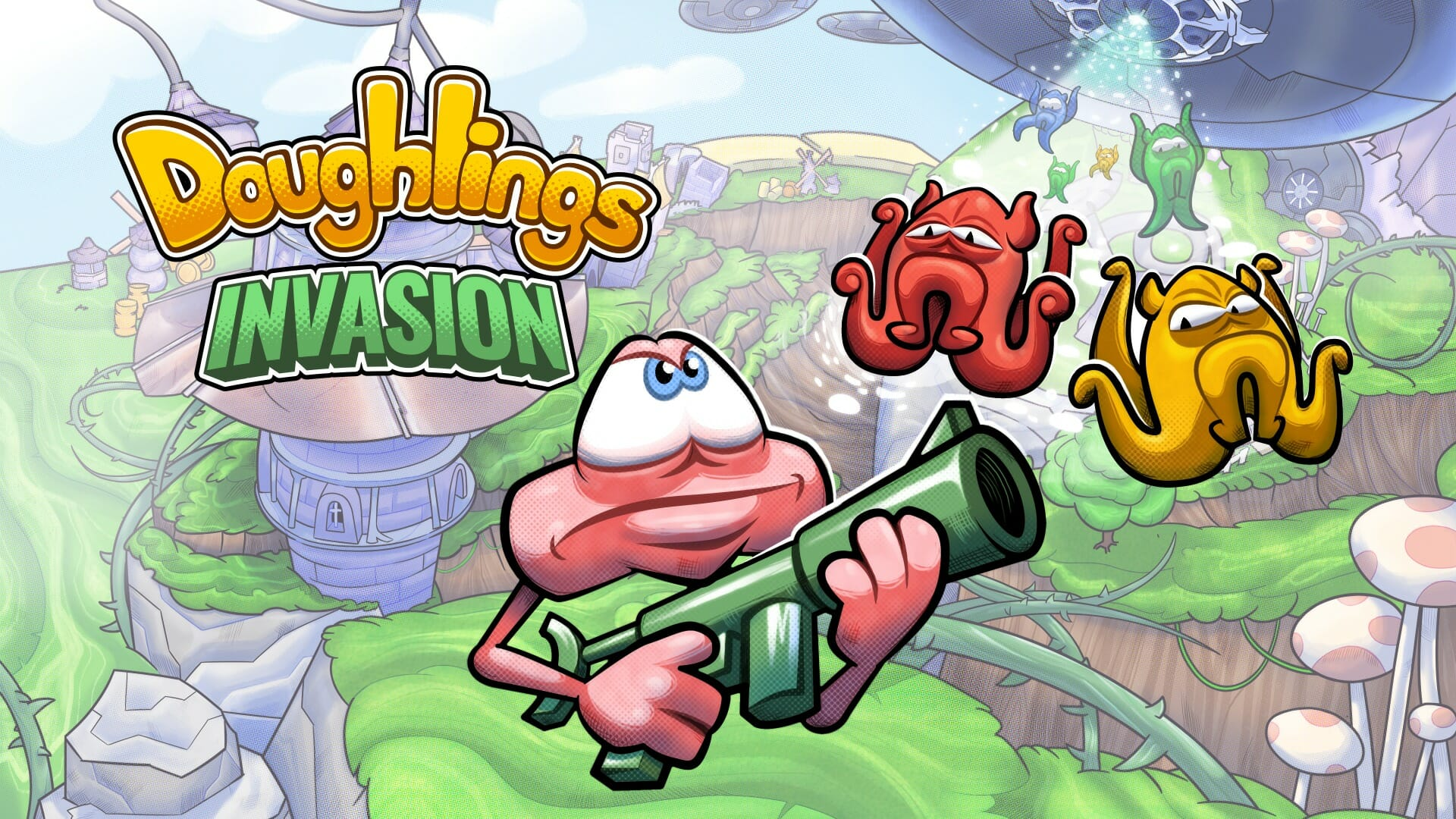 Doughlings: Invasion  PS4   Review