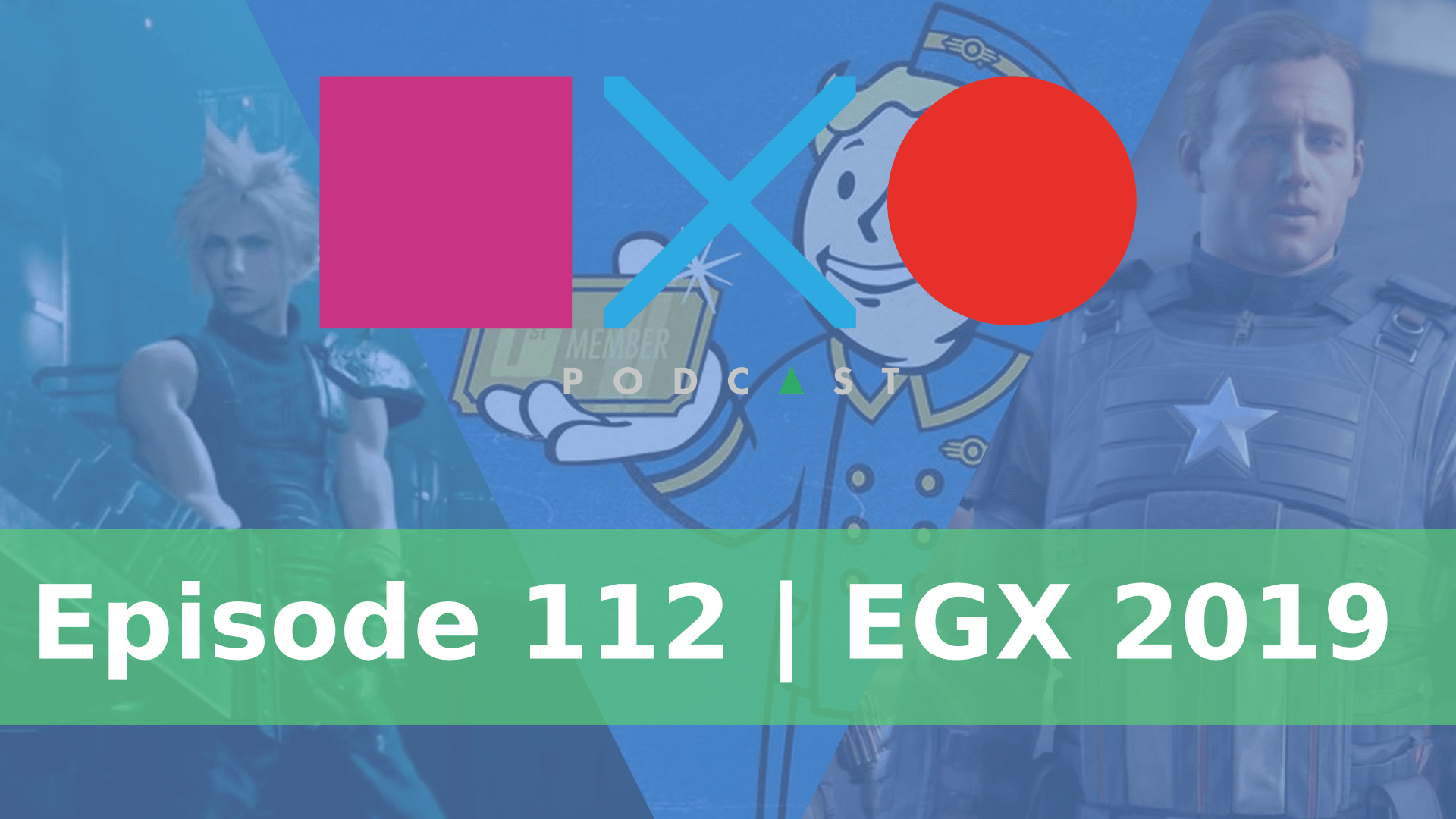 SquareXO | Gaming Podcast | Episode 112 | EGX 2019