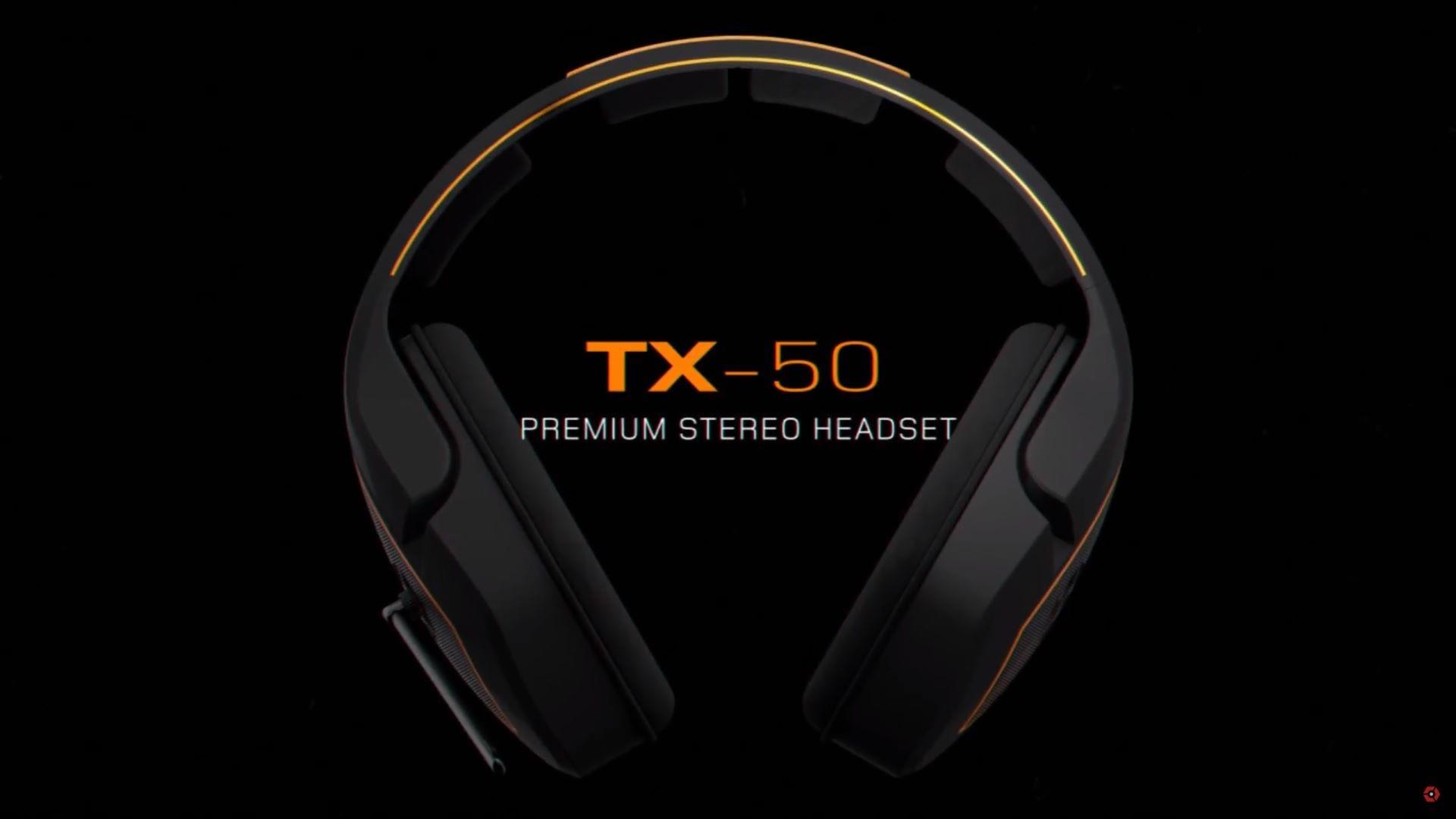 TX50 Premium Gaming Headset | Review