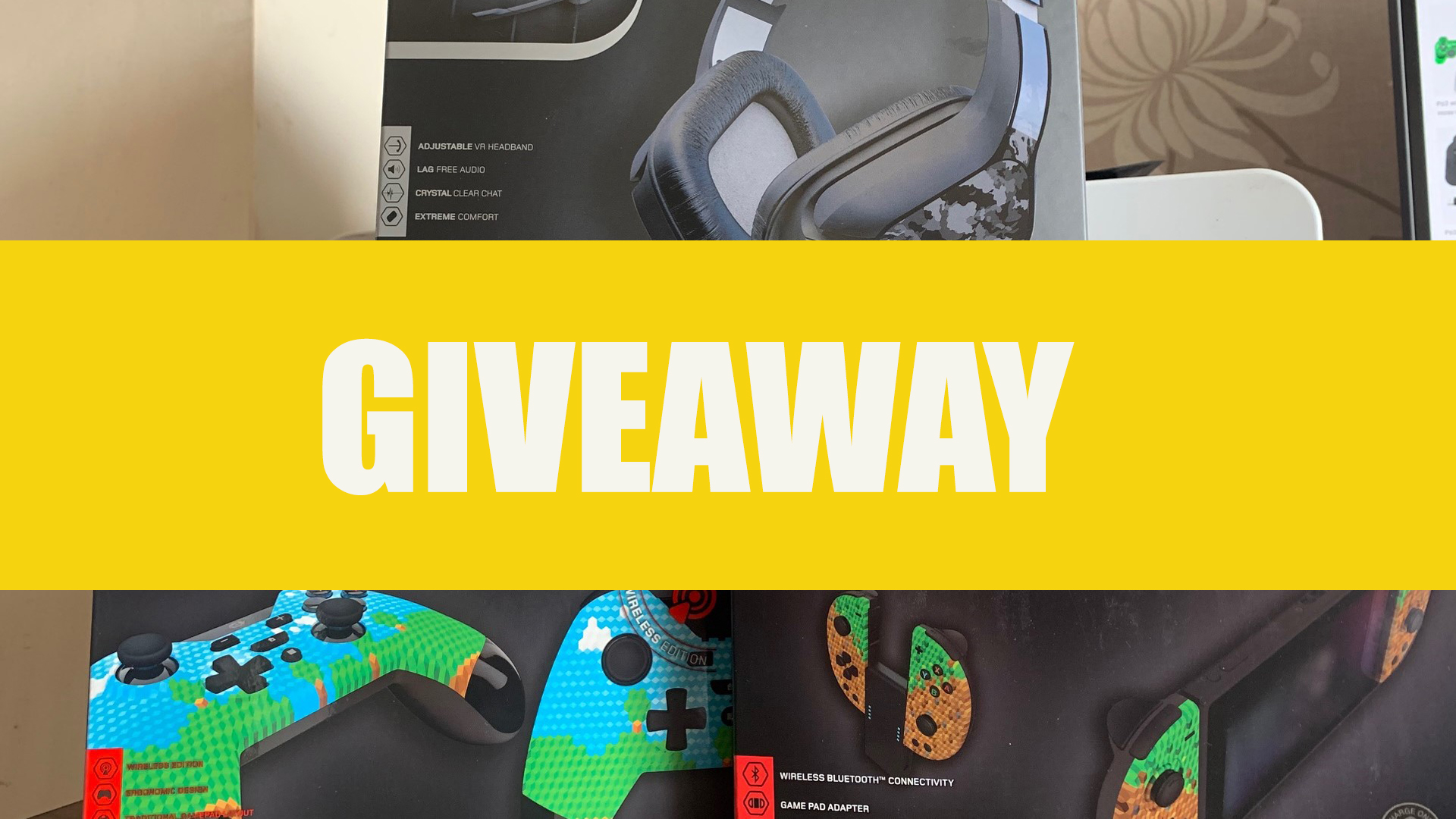 Giveaway – WIN a NSW JC-20 Controller, WX4 Premium Controller or a HC2 Stereo Headset from the new Gioteck Decal Range